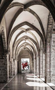 Rosen in der romanischen Architektur von Affect Fotografie