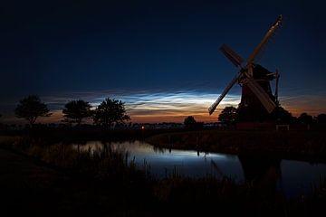 Leuchtende Nachtwolken von Titus van 't Veer
