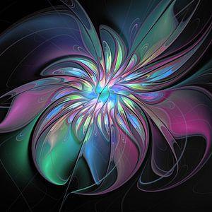 Farbenfrohe Abstraktion