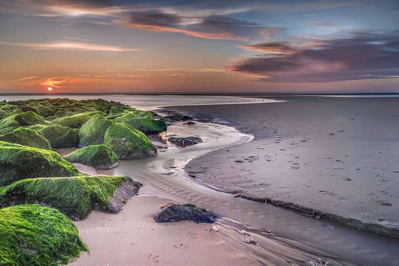 rocky sunset van Machiel Koolhaas