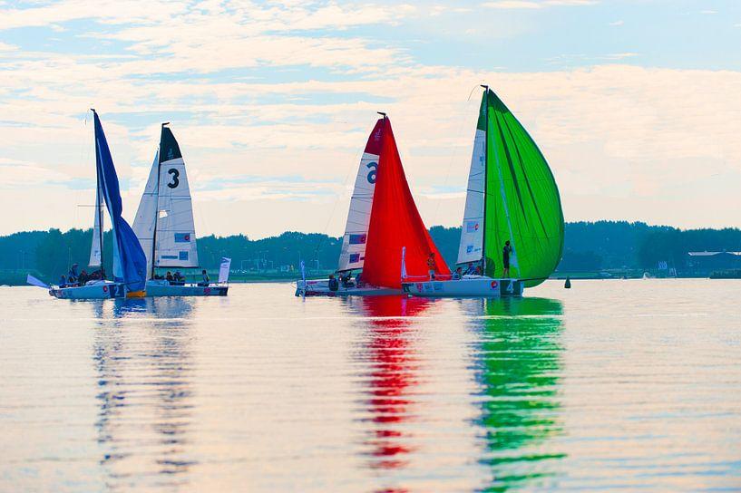 zeilboten op het water van Brian Morgan