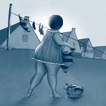 Vet Wuuf's maandag, wasdag von Bianca van Duijn