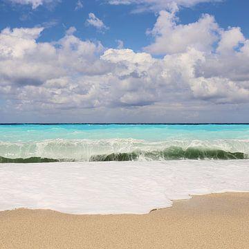 Katishma Beach - griechische Insel Lefkada von Shot it fotografie