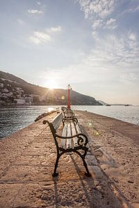 Dageraad in Dubrovnik van Michel Kempers