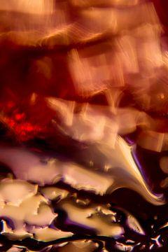 Rode en paarse hersengolven van