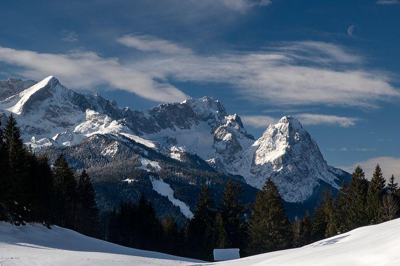Blick zur Zugspitze von Andreas Müller