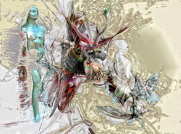 BAPHOMETs FLUCH van David Renson