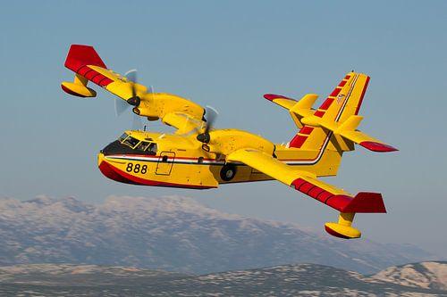 Kroatische Luchtmacht CL-415 Superscooper van