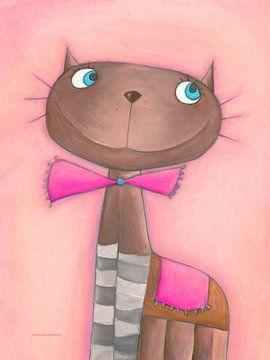 Katze CANDY CAT von Atelier BuntePunkt