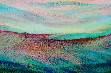 Fantasie landschap van Ingrid van El