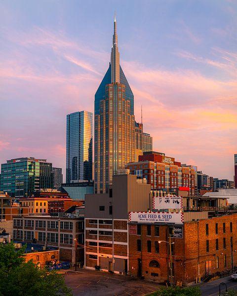 Downtown Nashville van Thomas Bartelds