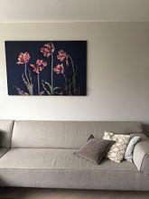 Kundenfoto: Garten der ausgedienten Remborandtulpen von Karel Ham, auf medium_13
