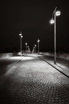Maastricht - Sint Servaasbrug - moody zwart en wit III