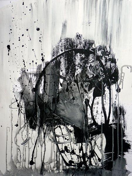 grey abstract van Christin Lamade