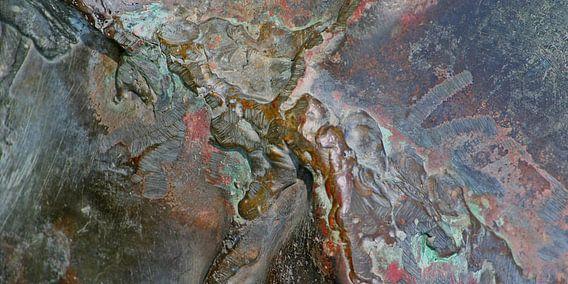 metalen litteken van Martijn Wams