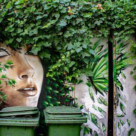 Streetart Milaan van Ton de Koning
