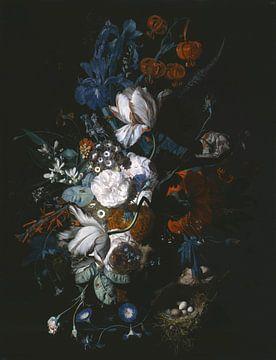 Vase avec des fleurs, Jan van Huysum sur
