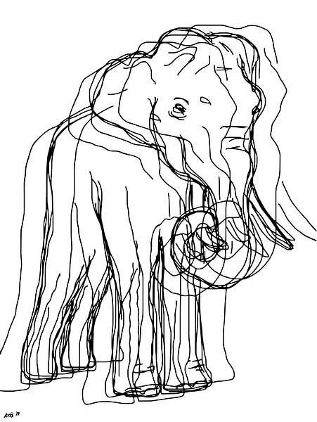 Olifant van Kris Stuurop