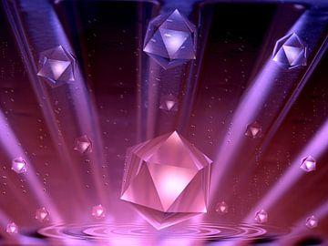 Strahlende Kristalle van Heidrun Carola Herrmann