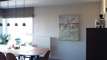 Kundenfoto: Blühender Mandelzweig in einem Glas - Vincent van Gogh