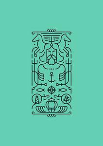 Poseidon (turquoise)