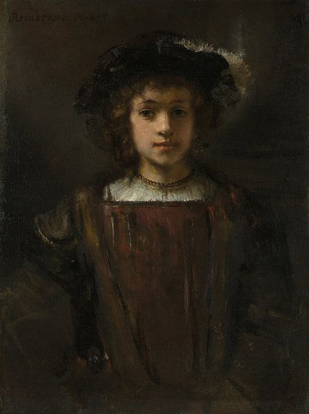 Rembrandts zoon Titus (1641-1668), de stijl van Rembrandt van Rembrandt van Rijn