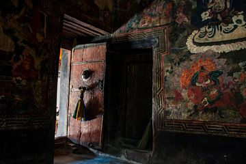 Türen des tibetisch-buddhistischen Klosters von Affect Fotografie