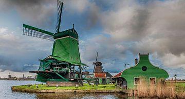 Hollands landschap sur Reint van Wijk