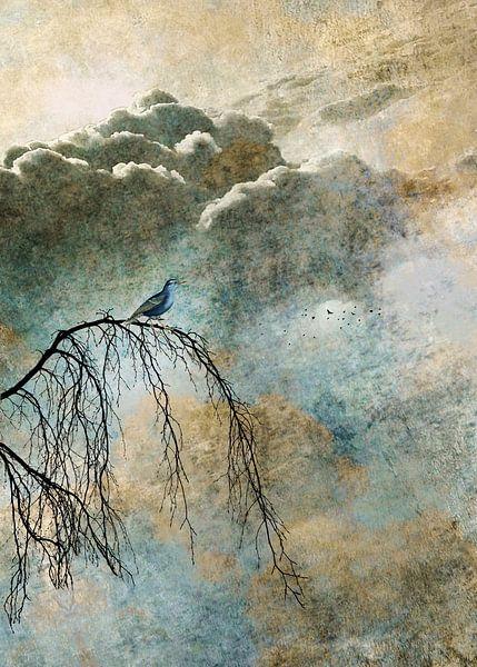HEAVENLY BIRD IIb van Pia Schneider