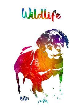 Hond van Printed Artings
