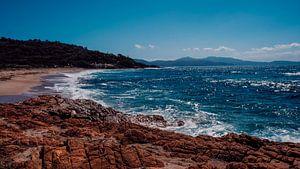 Einsamer Strand auf Korsika