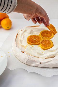 Sinaasappel meringue van Nina van der Kleij