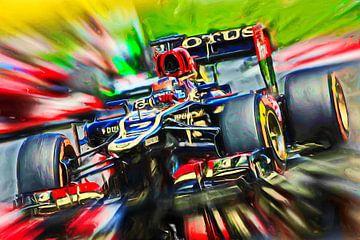 Räikkönen - 2013 van Jean-Louis Glineur alias DeVerviers