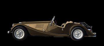 Morgan Plus 8 in koper van aRi F. Huber