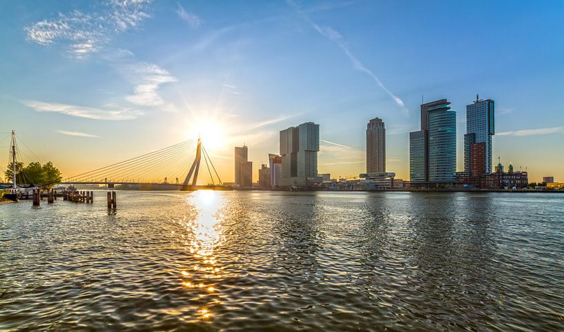 De zonsopkomst in Rotterdam van MS Fotografie | Marc van der Stelt