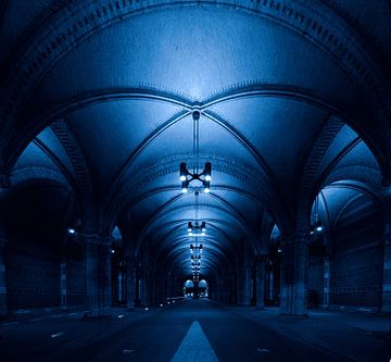 Der Fahrradtunnel unter dem Rijksmuseum in Amsterdam von Studio de Waay