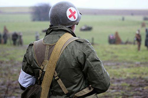 Bastogne Medic van