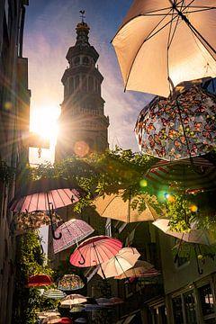 Umbrella (Lange Jan Middelburg) von Thom Brouwer