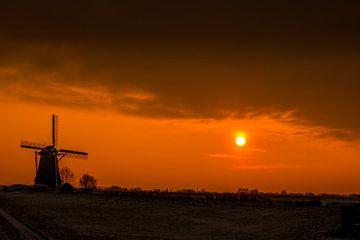 Magischer Sonnenuntergang! von Robert Kok