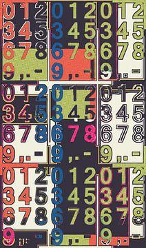 Poster: Ziffern von Leopold Brix