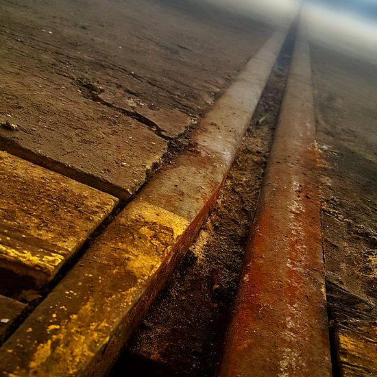 Vervlogen rails