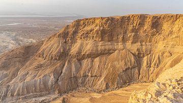 Felsen von Massada, Israel von Jessica Lokker