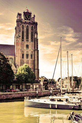 Onze-Lieve-Vrouwekerk te Dordrecht Nederland Oud