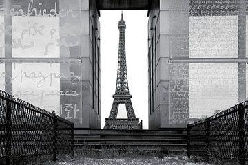 Eiffeltoren Freiburg van Patrick Lohmüller
