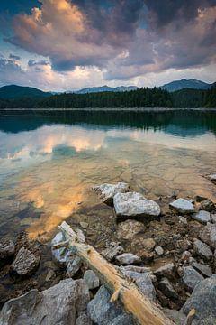 Sommermorgen am Eibsee von Martin Wasilewski