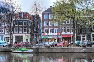 Amsterdam, Kloveniersburgwal, Tofani van Tony Unitly