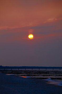 Ostsee bei Sonnenuntergang von Thomas Jäger