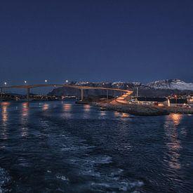 Brønnøysund - Nordland - Noorwegen van Mart Houtman