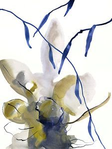 Denim floral von Brigitte Bazuin