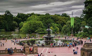 New York Central park,  Bethesda Terrace van Nynke Altenburg